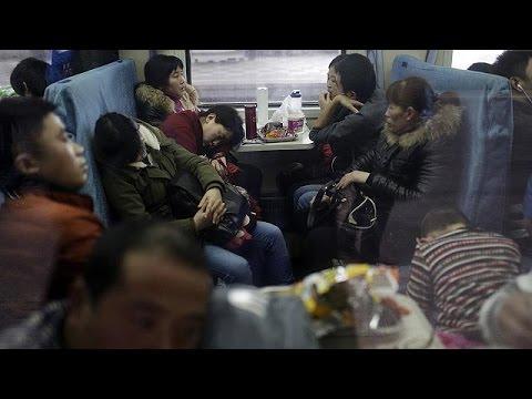 Κίνα: Μαζική μετακίνηση πληθυσμού λόγω των εορτασμών για το Νέο Έτος