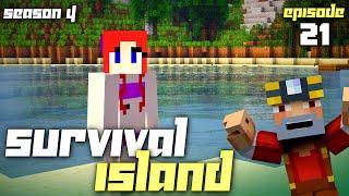 Minecraft: Survival Island - Season 4 (Episode 21 - Sissy's Starter Cave)
