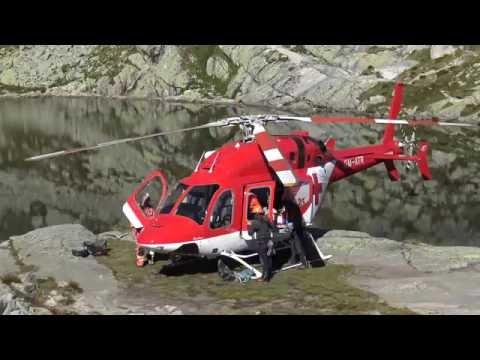 Záchranná akcia novým vrtuľníkom so 70-metrovým spustom!