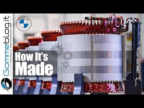 BMW Motor E-DRIVE - PRODUCTION Engine Car Factory