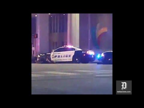 Cận cảnh vụ đấu súng ở Dallas Taxes