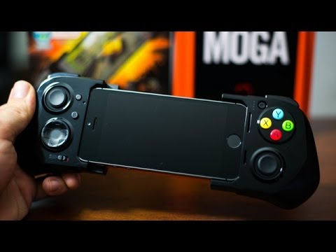 Iphone - Moga Ace Power Gaming Controller For iPhone 5s/5c/5 & iPod Touch 5G - Hands On Demo & Review Get The MOGA ACE POWER Here: http://store.apple.com/us/product/H...