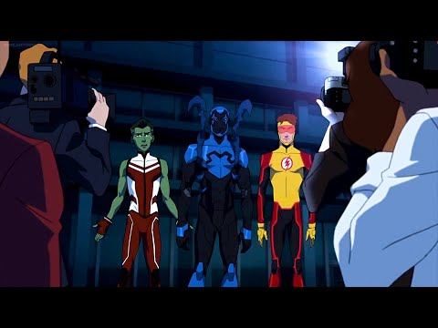 Young Justice 3x16 - Kid Flash New Team