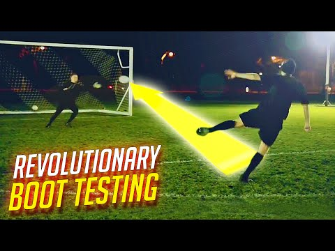 boot - We have been chosen to test a revolutionary new football boot in Londo with a major twist. An anonymous invite, a secret location and blacked out boots - so it was quite hard - it could be...