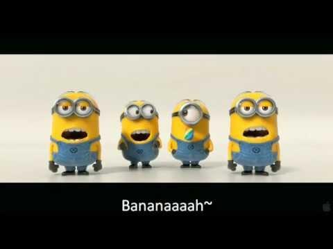 Banana and Potato Song with Subtitled Lyrics (Despicable Me 2 Trailer)