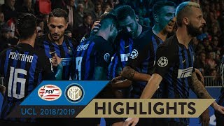 Download Video PSV 1-2 INTER | HIGHLIGHTS | Matchday 02 - UEFA Champions League 2018/19 MP3 3GP MP4