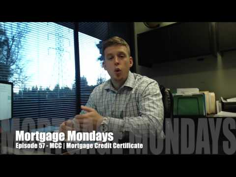 MCC | Mortgage Credit Certificate | Mortgage Mondays #57