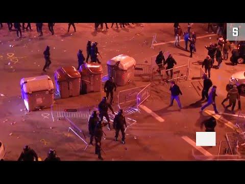 Katalonien: Viele Verletzte bei Demonstrationen für P ...