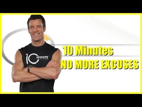 10 Minute Trainer Infomercial 2014 | No Excuses!! | Home Workouts Work