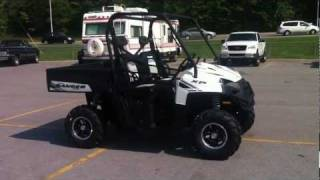 9. 2012 Polaris RANGER XP® 800 Pearl White LE