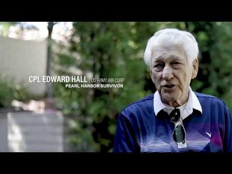 Corporal Edward Hall, Pearl Harbor