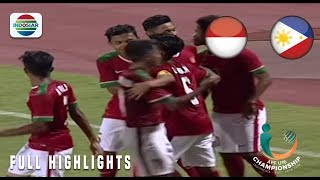 Video Indonesia (8) vs Filipina (0) - Full Highlight | AFF U 16 Championship 2018 MP3, 3GP, MP4, WEBM, AVI, FLV Agustus 2018