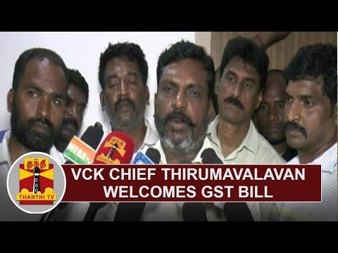 VCK-Chief-Thirumavalavan-welcomes-GST-Bill-Thanthi-TV