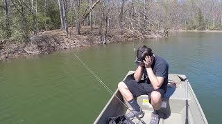 Video Bass Fishing with a Subscriber at Rocky Gorge Reservoir MP3, 3GP, MP4, WEBM, AVI, FLV Januari 2019