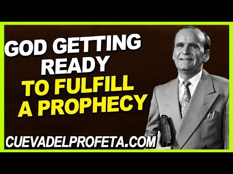 God quotes - God getting ready to confirm a promise and to fulfill a prophecy  William Marrion Branham Quotes