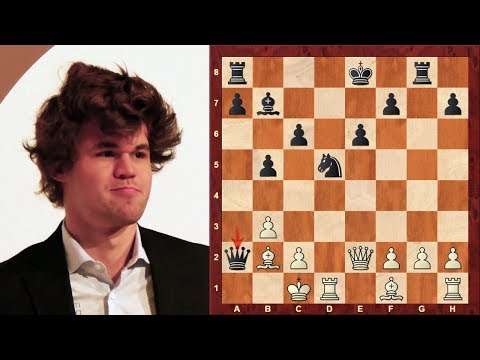 "Magnus Carlsen – Top Chess Sacrifices between 2003 and 2004 – The ""Mozart of Chess"""