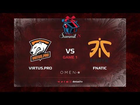 Viruts.pro против Fnatic, Первая карта, Гранд-финал Dota Summit 8