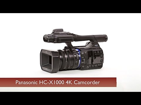 First Look: Panasonic HC-X1000 4K Camcorder