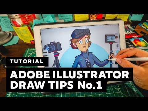 Tutorial | Tips For Creating In Adobe Illustrator Draw | No.1
