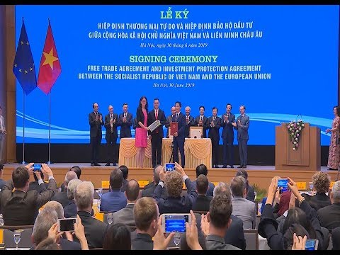 EVFTA cú hích lớn cho xuất khẩu Việt Nam
