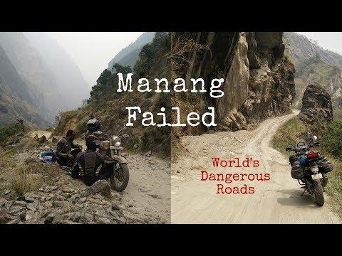 Day 8 | Manang | Failed Attempt#2 | World's Dangerous Roads