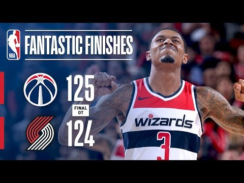 Video: Thrilling OT Finish Between the Wizards and Blazers | October 22, 2018