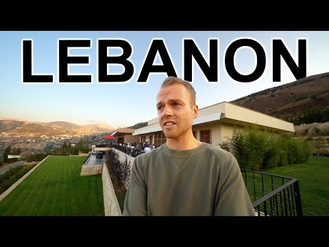 INSIDE MILLIONAIRE'S COUNTRY-CLUB (Lebanon's other side)