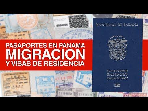 Pasaportes en Panamá, Migración y Visas de Residencia