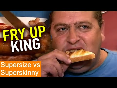 23 STONE Overweight | Supersize Vs Superskinny | S04E06 | How To Lose Weight | Full Episodes