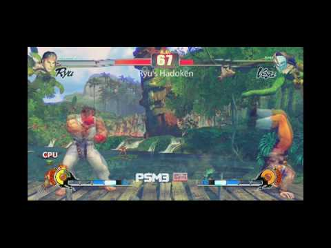 PSM3 presents: Street Fighter IV's best special moves