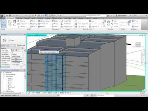 Copying Walls to Multiple Levels in Revit
