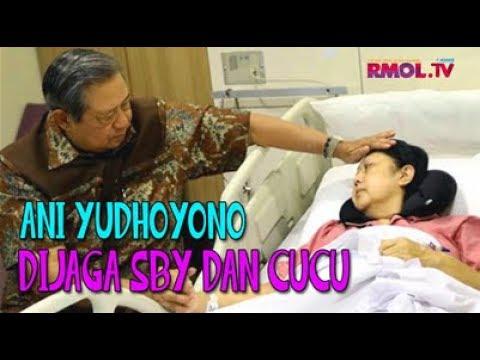 Ani Yudhoyono Dijaga SBY Dan Cucu