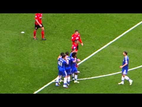 Chelsea 4 - 1 Cardiff (19/10/13) Hazard scores his second