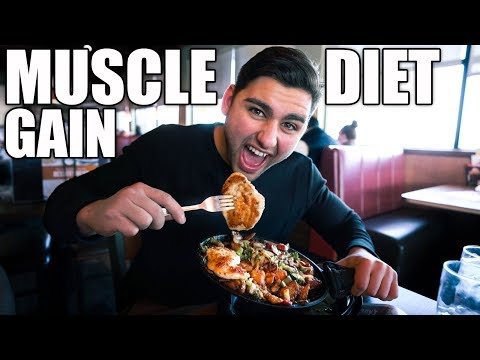 Diabetic diet - The Muscle Gain Diet  Full Day Of Eating