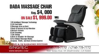ISINGTEC Massage Chair Xmas Promo