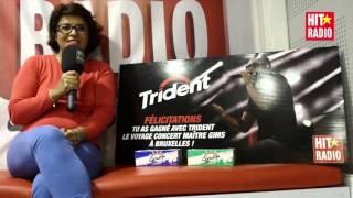 Félicitations à Salha qui remporte son voyage concert Maître Gims avec Trident