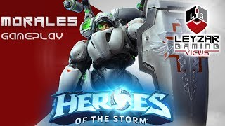 Heroes of the Storm (Gameplay) - Lt. Morales Meta Build (HotS Morales Gameplay Quick Match) Recommended Build...