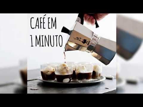 Café em 1 minuto com sua Bialetti