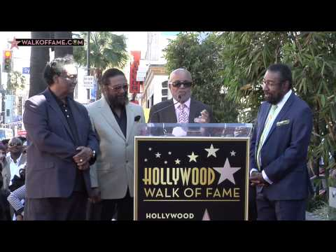 Holland Dozier Holland  Walk of Fame Ceremony