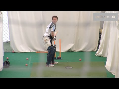 england - England batsman Eoin Morgan faces the Merlyn by BOLA spin bowling machine in the nets at Edgbaston ahead of the 4th Royal London One-Day International.