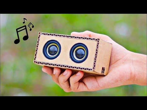 Amazing DIY Bluetooth Speaker