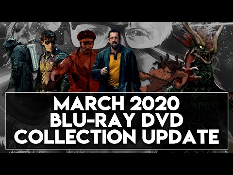 Arrow Video, Disney, Uncut Gems & More! - BLU-RAY/DVD COLLECTION UPDATE [MARCH 2020] (The Archive)
