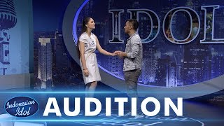 Video Bisa berduet dengan Judika, Juliette Angela  tersipu malu - AUDITION 4 - Indonesian Idol 2018 MP3, 3GP, MP4, WEBM, AVI, FLV Maret 2019