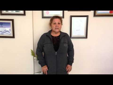Semiha OLUZ - Bel Fıtığı Hastası - Prof. Dr. Orhan Şen