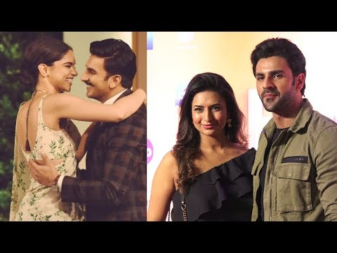 AWESOME COUPLE Divyanka Tripathi And Vivek Dahiya At World Premiere of Cirque Du Soleil BAZZAR