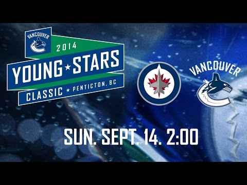 Canucks - Watch the broadcast from the game between the Jets and Canucks rookies in Penticton at the Young Stars Tournament. Vancouver rally in the third period but ultimately it is the Jets who prevail...