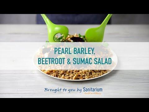 Pearl barley, beetroot and sumac salad thumbnail 1