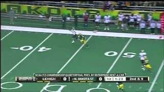 Marcus Williams vs GA Southern & Lehigh (2011)