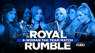 Nonton 720phd Wwe Royal Rumble Kickoff Show 2017 Six Womens Tag Team Match Film Subtitle Indonesia Streaming Movie Download