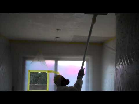 Asbestos Acoustic Ceiling Removal